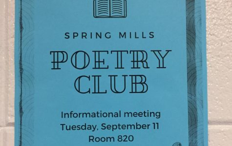 Poetry Club Slams into Spring Mills High