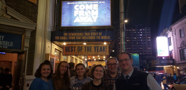 Students+in+NYC+before+seeing+the+musical%2C+Come+From+Away.