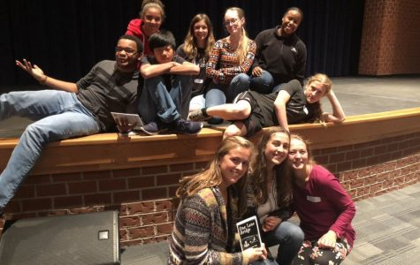 Senior Thespians Rehearse For One Act Plays