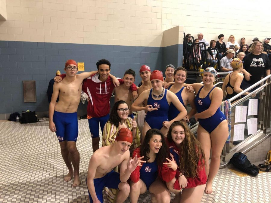 SMHS+swimming+team