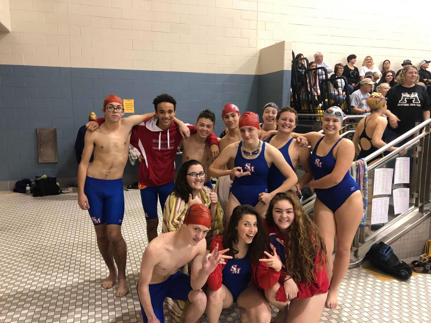 SMHS swimming team