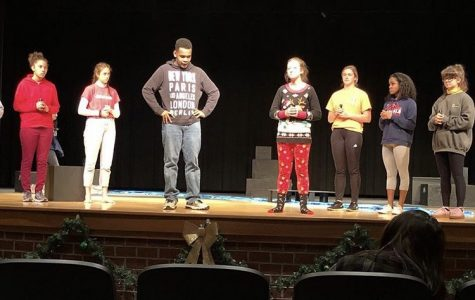 Cardinal Players Rehearse for Competition