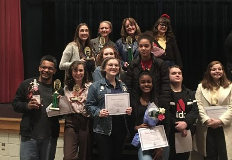 Cardinal Players Advance from Regional Thespian Competition