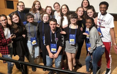 SMHS Thespians Act Well Their Part at State Festival