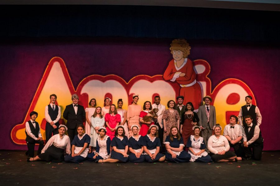 Tomorrow is Here with Annie: SMHS Spring Musical