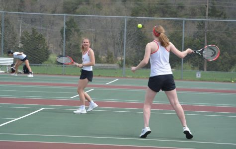 Spring Mills Tennis Team Stuns Washington Patriots on Senior Night