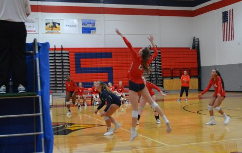 Cardinal Varsity Volleyball Girls Defeat the Martinsburg Bulldogs: 3-0