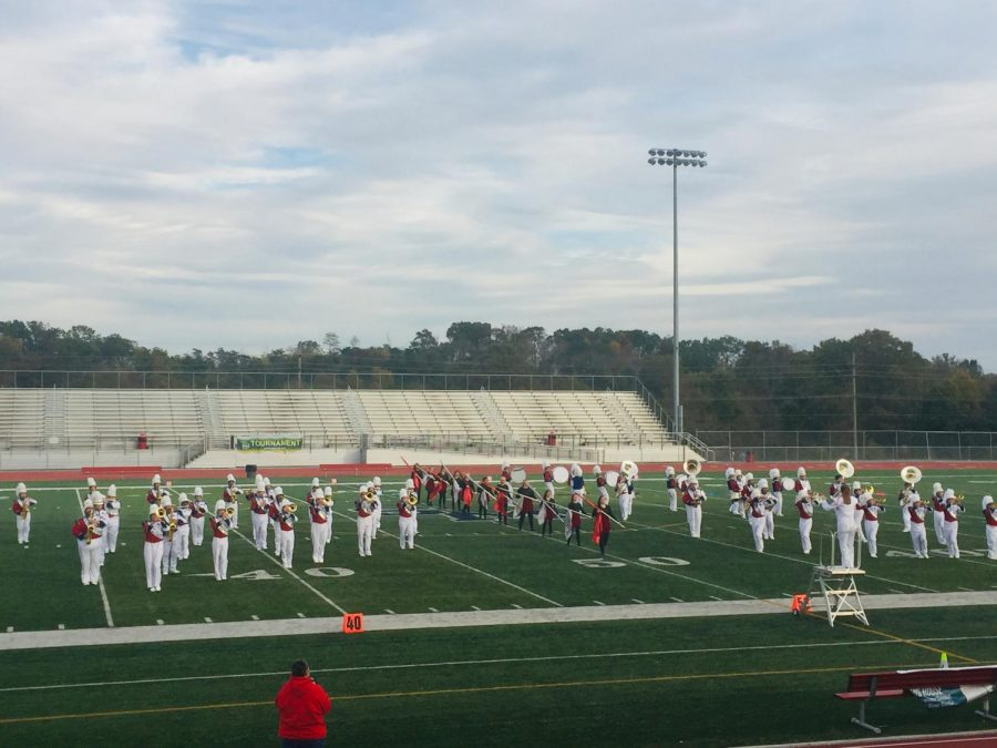 Second Is the Best: Spring Mills Band places second in Regional Championship Band Competition