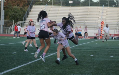 Junior Victory Over Defending Champs In Powder Puff Game