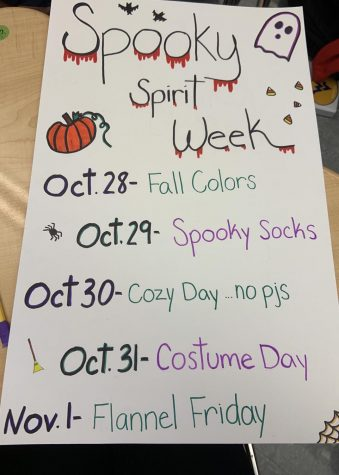 SMHS Students Take on Spooky Week