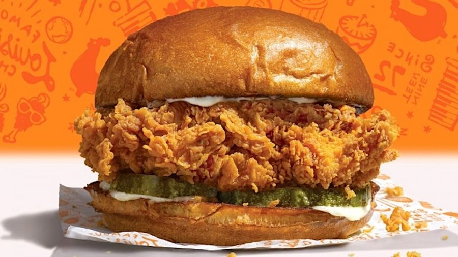 The Infamous Popeye's Chicken Sandwich