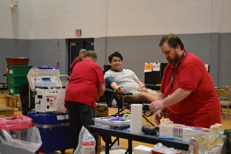 Student Body Blood Donations at Spring Mills
