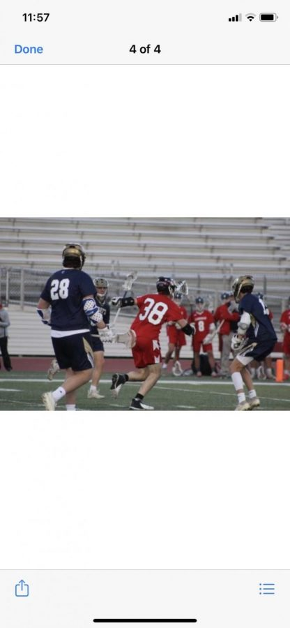 Rising to the Top: The Boys Lacrosse Team's Undefeated Season