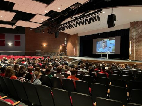 """The Author of Award-Winning Novel """"Southernmost"""" Speaks to Spring Mills High School Students"""